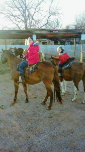 Riding on New Year's Day, 2017