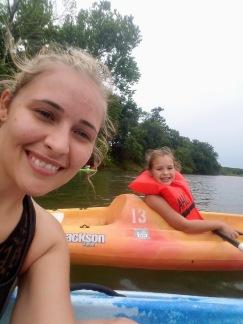 Kayaking on the Illinois River