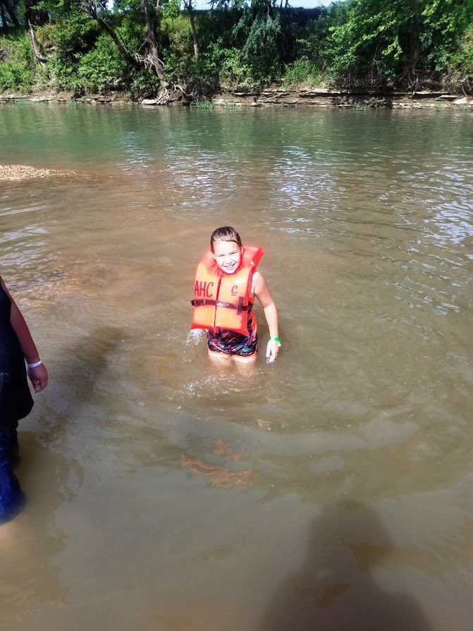 Swimming in the Illinois River