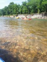 Illinois River in Tahlequah