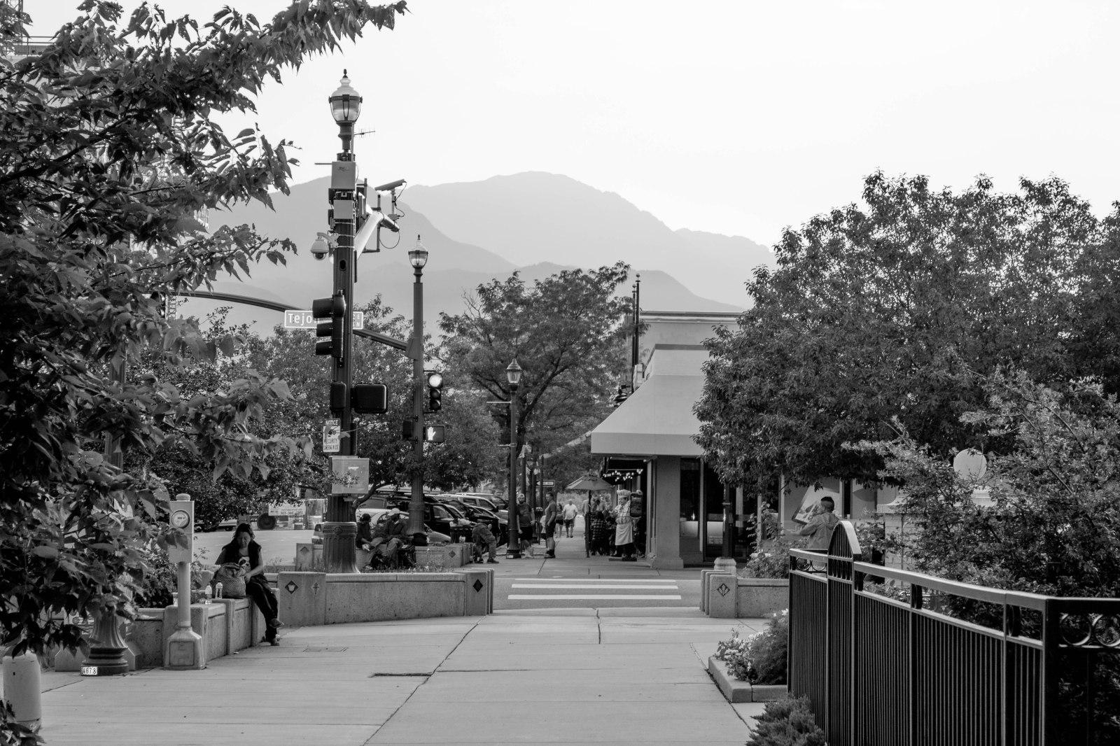 Downtown Colorado Springs, CO